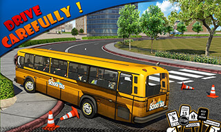 Schoolbus Driver 3D SIM скриншот 2