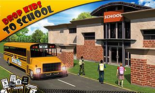 Schoolbus Driver 3D SIM скриншот 3