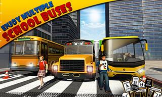 Schoolbus Driver 3D SIM скриншот 4
