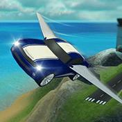 Flying Car Flight Simulator 3D иконка