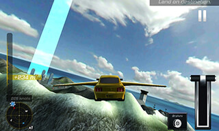 Flying Car Flight Simulator 3D скриншот 4