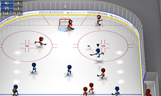 Stickman: Ice Hockey скриншот 1