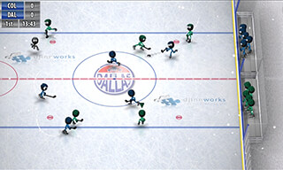 Stickman: Ice Hockey скриншот 2
