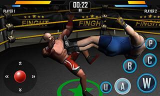 Real Wrestling 3D скриншот 3