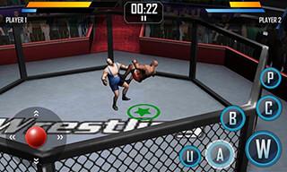 Real Wrestling 3D скриншот 4
