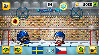 Puppet Ice Hockey 2015 скриншот 2