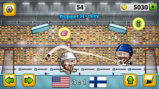 Puppet Ice Hockey 2015 скриншот 3