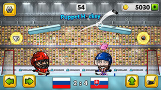Puppet Ice Hockey 2015 скриншот 4
