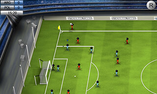 Stickman Soccer 2014 скриншот 1
