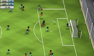 Stickman Soccer 2014 скриншот 2