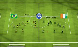 Stickman Soccer 2014 скриншот 3