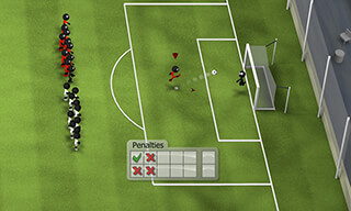 Stickman Soccer 2014 скриншот 4