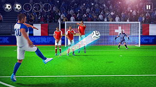Perfect Soccer FreeKick 3D скриншот 1