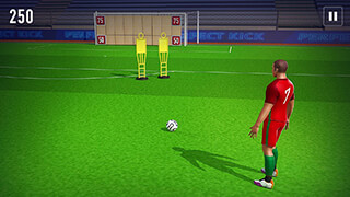 Perfect Soccer FreeKick 3D скриншот 3