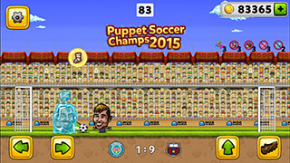 Puppet Soccer: Champions 2015 скриншот 1