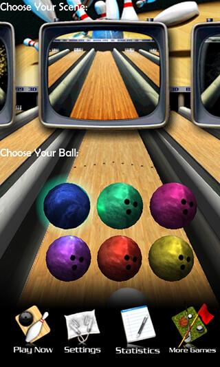 3D Bowling скриншот 1