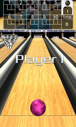 3D Bowling скриншот 2