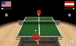 Virtual Table Tennis 3D скриншот 1
