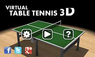 Virtual Table Tennis 3D скриншот 4