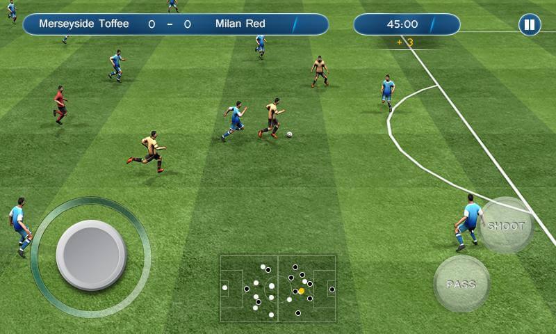 лучший футбольный симулятор андроид набирается потом