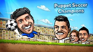 Puppet Soccer Champions 2014 скриншот 1