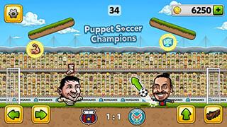 Puppet Soccer Champions 2014 скриншот 3