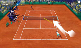 3D Tennis скриншот 1
