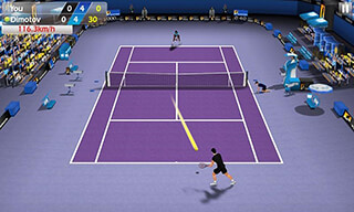 3D Tennis скриншот 3