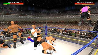Wrestling Revolution 3D скриншот 1