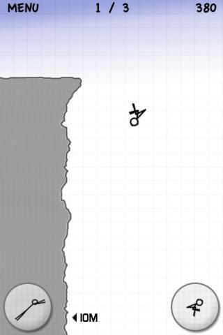 Stickman: Cliff Diving скриншот 3