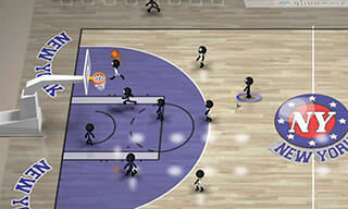 Stickman Basketball скриншот 1