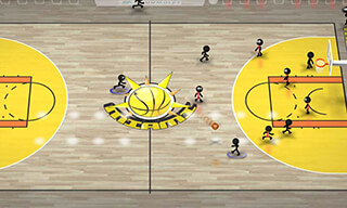 Stickman Basketball скриншот 2