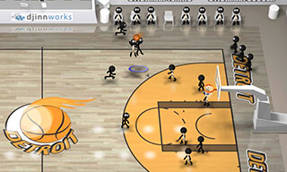 Stickman Basketball скриншот 3