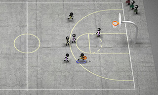 Stickman Basketball скриншот 4