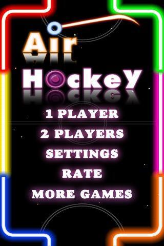 Air Hockey Deluxe скриншот 1