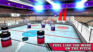 Pin Hockey: Ice Arena скриншот 3