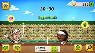 Puppet Tennis: Forehand Topspin скриншот 4