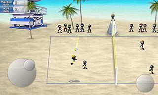 Stickman: Volleyball скриншот 1