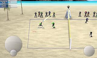 Stickman: Volleyball скриншот 3