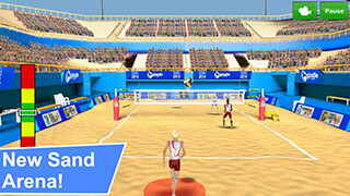 Volleyball Champions 3D скриншот 1