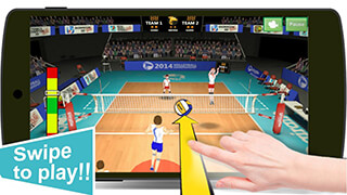 Volleyball Champions 3D скриншот 2