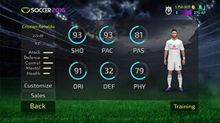 Soccer 2016 скриншот 3