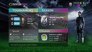 Soccer 2016 скриншот 4