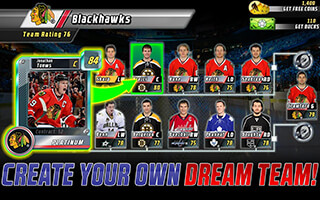 Big Win NHL Hockey скриншот 1