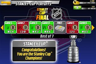 Big Win NHL Hockey скриншот 3