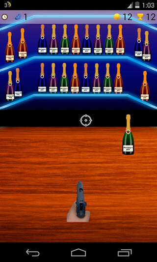 Bottle Shoot Game скриншот 1