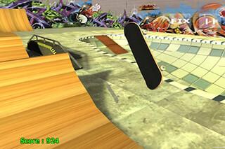 Skateboard Free скриншот 2
