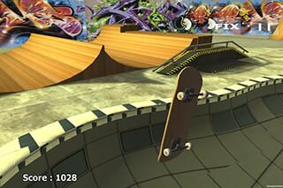 Skateboard Free скриншот 3