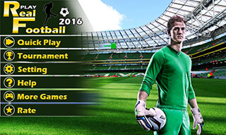 Play Real Football 2015 Game скриншот 2