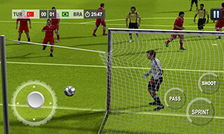 Play Real Football 2015 Game скриншот 3